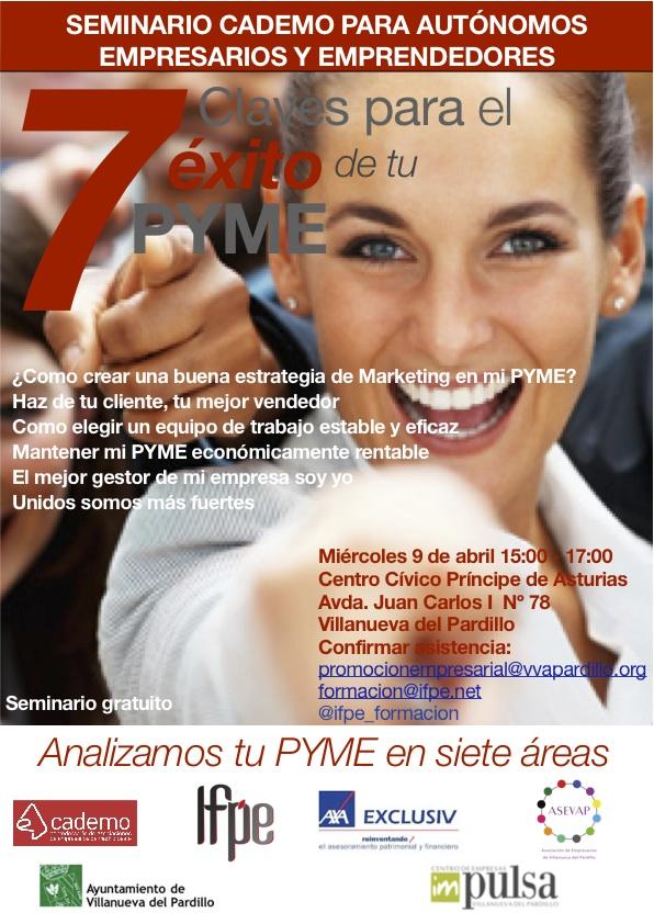 Conferencia Cademo Villanueva del Pardillo - Yago Uribe