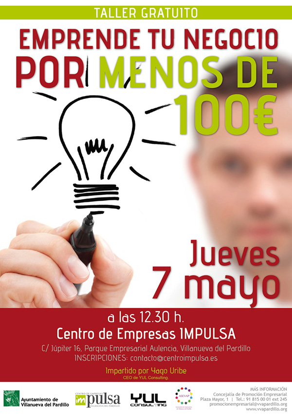 Emprende tu negocio por menos de 100 € - Yago Uribe