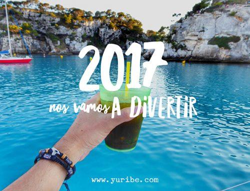 Querido 2017… Nos vamos a divertir!!!