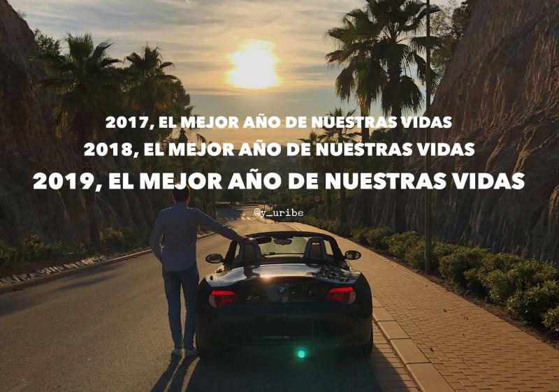 Feliz 2019 - Yago Uribe